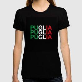 PUGLIA Italian Flag T-shirt