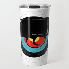 Hand Gun Target Travel Mug