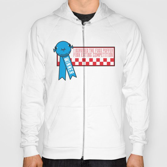 Fugu Puffer Fish (Extravagant Eating Competitions) Hoody