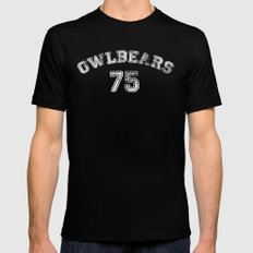 Go Owlbears! Black Mens Fitted Tee MEDIUM