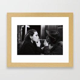 Number Four Framed Art Print