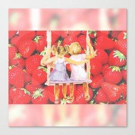 Strawberry Swing Canvas Print