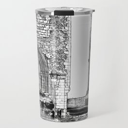 Furness Abbey Details Travel Mug