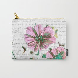 The Flower of Life - Free Hand Calligraphy! Carry-All Pouch
