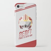 rebel iPhone & iPod Cases featuring Rebel by Tony Vazquez