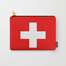 Flag of Switzerland - Authentic (High Quality Image) Carry-All Pouch