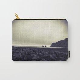 Dark beach Carry-All Pouch