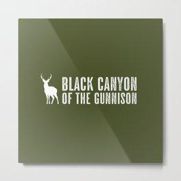 Deer: Black Canyon of the Gunnison, Colorado Metal Print