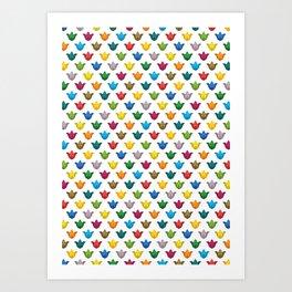 Mardesign pattern Art Print