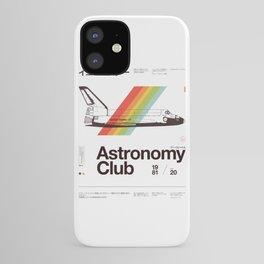 Astronomy Club iPhone Case