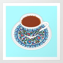 Turkish Coffee Art Print