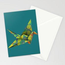 Origami Crane ~ Washi Umbrellas Stationery Cards