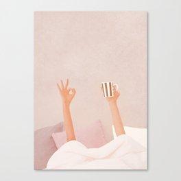 Morning Coffee II Canvas Print