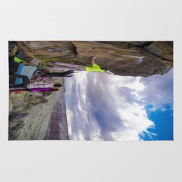 Climbing with a View Rug