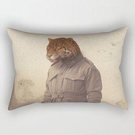 Jungle Jaguar Rectangular Pillow