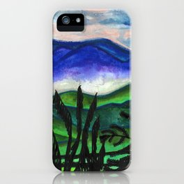 Vermont Mountains iPhone Case