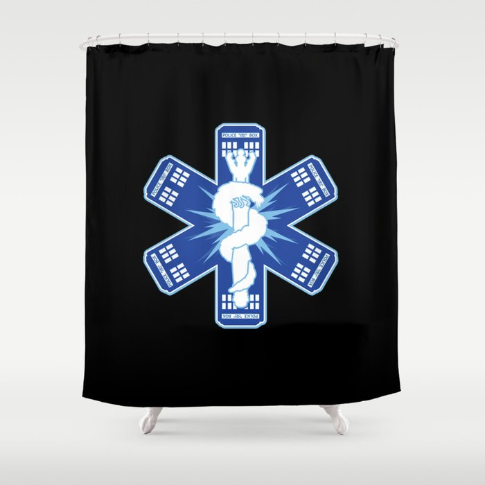 The Doctors Association Shower Curtain