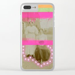 Together We're Stronger Clear iPhone Case