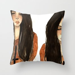 RUBIA Throw Pillow