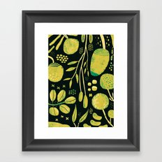 Fiori Framed Art Print