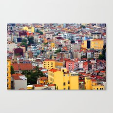 Istanbul, view from Galata Tower Canvas Print