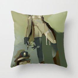 TinTin's dog  Throw Pillow