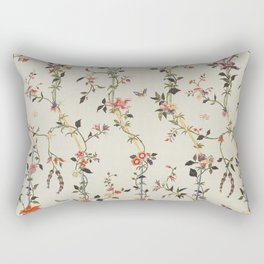 Floral Piece late 18th century Chinese for French market Rectangular Pillow