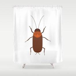 Cockroach Shower Curtain