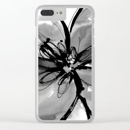 Ecstasy Bloom No.17p by Kathy Morton Stanion Clear iPhone Case