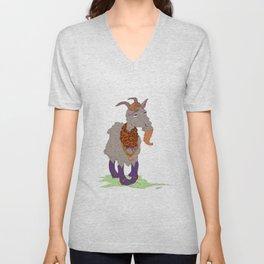 Mr. Gaudy Goat Unisex V-Neck