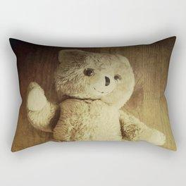 Old Teddy Bear Rectangular Pillow