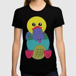 Rainbow Platypus T-shirt