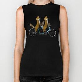 Foxy days lets tandem Biker Tank