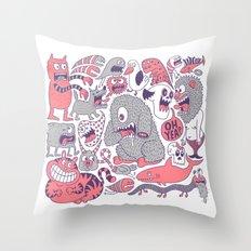 Ol' Doodle Throw Pillow