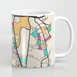 Colorful City Maps: Belfast, United Kingdom Coffee Mug