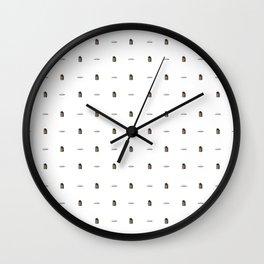 Potatoes and Molasses Wall Clock