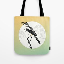 [9.13—9.17] Wagtails Sing Tote Bag