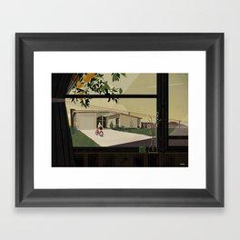 Bikes are for the summer Framed Art Print