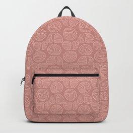 Ball of knitting yarn tone on tone Backpack