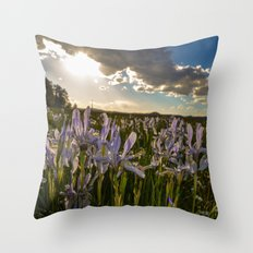 Mountain Flower Brilliance Throw Pillow