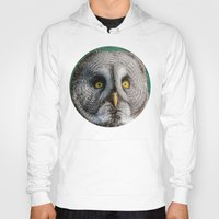 justin timberlake Hoodies featuring GREY OWL by Catspaws