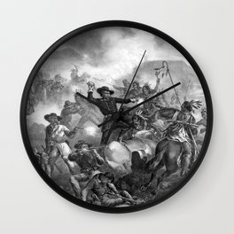 General Custer's Death Struggle Wall Clock