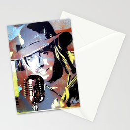 Tom Petty. legend. painting. print. Stationery Cards