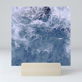 Indigo Deep Sea Ocean Mini Art Print