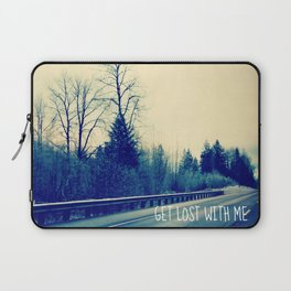 GET LOST on HWY 101 Laptop Sleeve