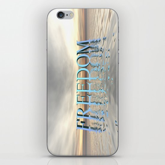 Reflections of Freedom iPhone & iPod Skin