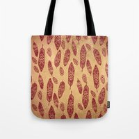 nick cave Tote Bags featuring golden cave by ECSTATIC