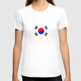 south korea country flag T-shirt