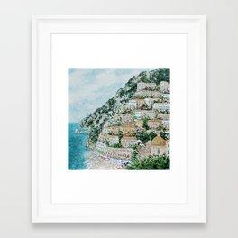 Positano Framed Art Print