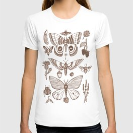 Natural History (Brown) T-shirt